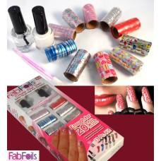 """Набор для дизайна ногтей """"Fab Foils"""""""