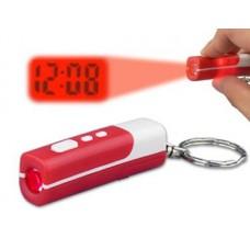 Часы проекционные-брелок