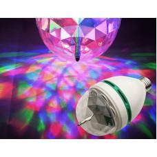 Вращающаяся светодиодная лампа