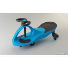 """Детская самоходная машинка """"PlasmaCar"""" (цвет голубой). Оригинал."""