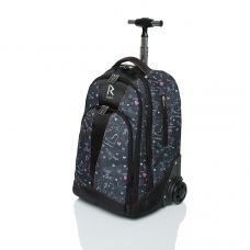 Сумка-рюкзак на колесиках «RUNA» SK8 Black