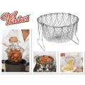 """Складная решетка """"Chef Basket"""" для приготовления пищи"""