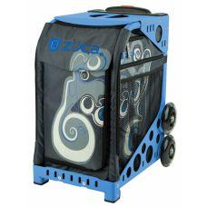 Дорожная сумка на колесиках ZUCA Sport Electric Blue/Red
