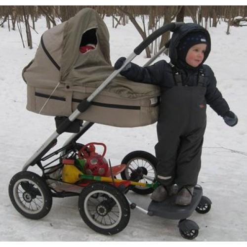 Подножка для коляски для второго ребенка