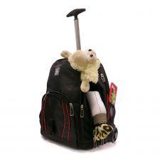 Сумка-рюкзак на колесиках «RUNA» Red