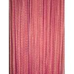 Шторы-нити 90х200, розовые «ДОЖДЬ»