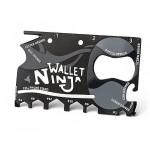 """Мультитул-Кредитка """"Ninja Wallet"""" 18 в 1"""