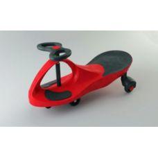 Плазмакар на пластмассовых колесах Цвет-красный