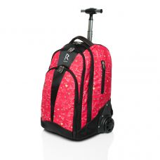 Сумка-рюкзак на колесиках «RUNA» SK8 Red