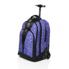 Сумка-рюкзак на колесиках «RUNA» SK8 Purple