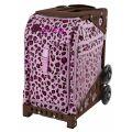 Дорожная сумка на колесах ZUCA Sport Pink Leopard