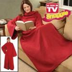 """Одеяло - Плед - Халат с рукавами  """"Cuddle Blanket"""" (Куддле Бланкет)"""